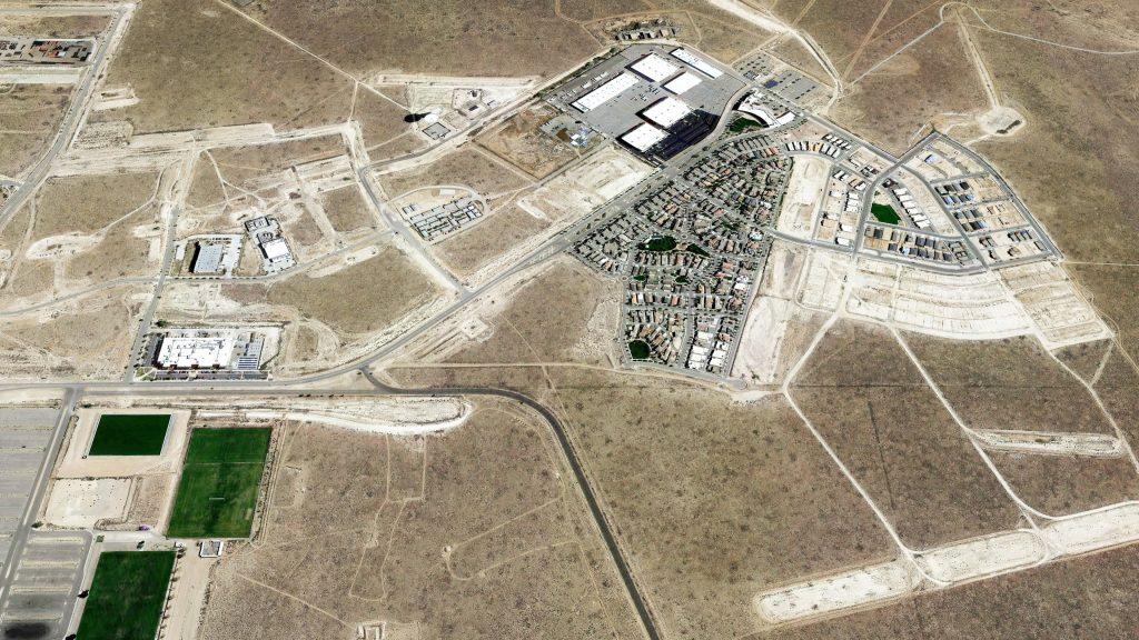 Aerial view of Mesa del Sol
